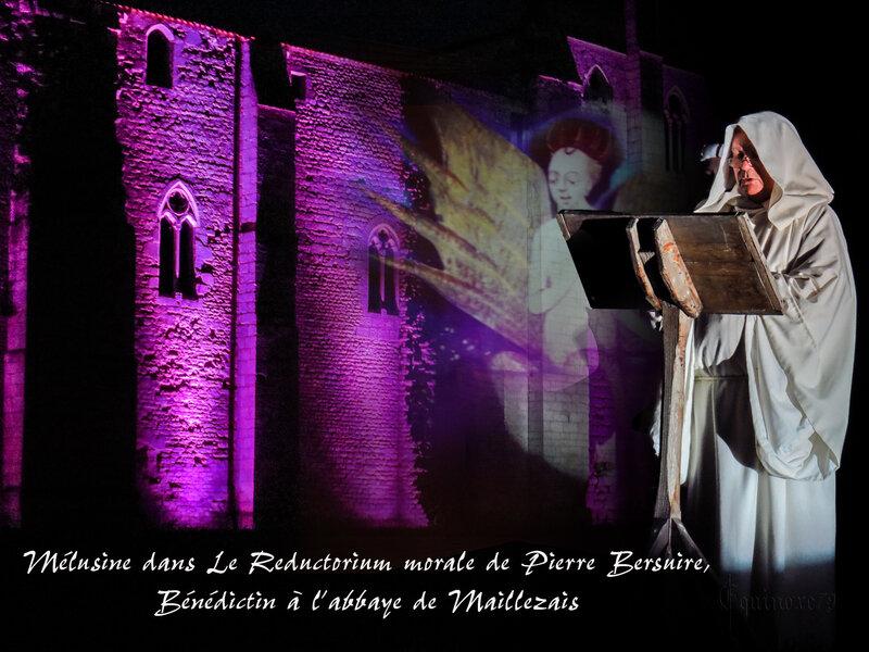 Mélusine dans Le Reductorium morale de Pierre Bersuire, Bénédictin à l'abbaye de Maillezais