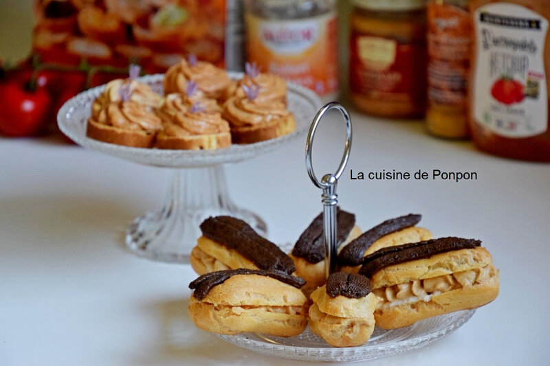 Eclairs thoionade et toast (9)