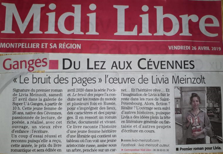 livia article midi libre2