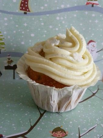 cupcakes let it snow noix de coco chocolat blanc