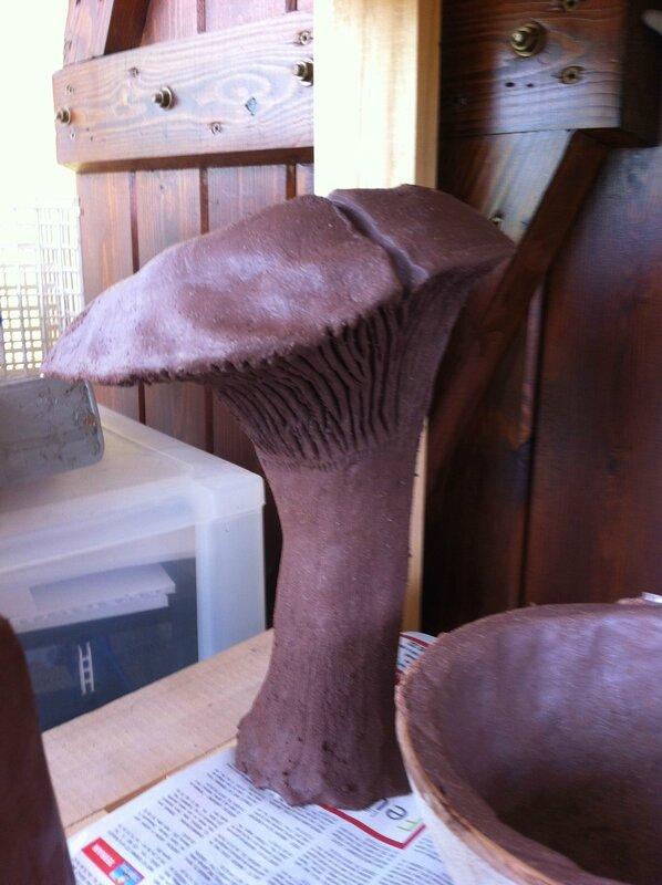 loriginal,céramique,grès,terre,champignon,oxyde,sculpture,jardin,déco,extérieur,argile,engobe,cadeau (2)