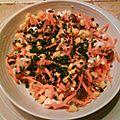 Salade carotte-maïs bonsoir à tous ! aujourd'hui,