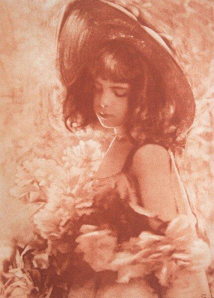 céline laguarde, jardin ensoleillé, 1906