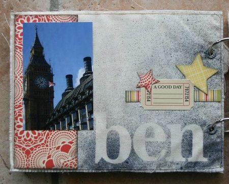 mini album souvenirs de Londres page 3