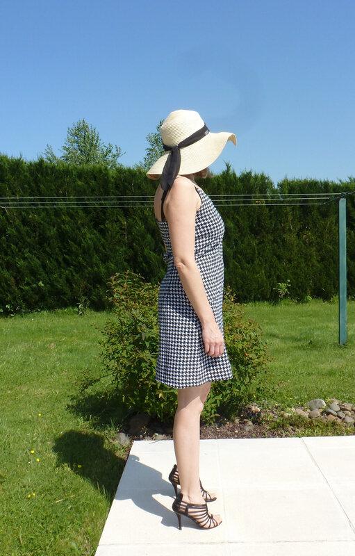 robe pied de poule1