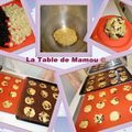 Cookies au chocolat blanc et pruneaux d'agen