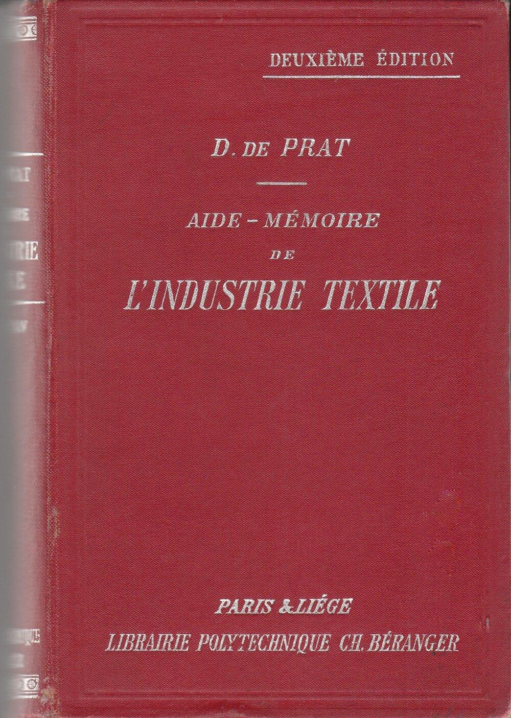 aide-mémoire de l'industrie textile