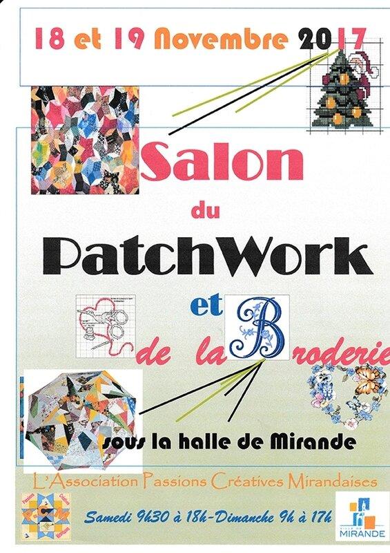 Affiche patchwork salon 2017mirande-1