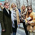 Newyork fashion week fall winter 2015 : street style nyfw & fur coat
