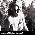 Marilyn monroe photos found at garage sale still a mystery