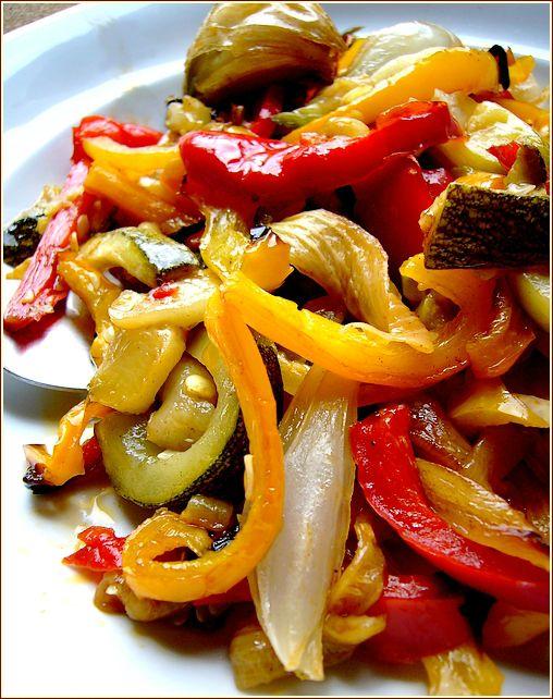 legumes grillés du soleil