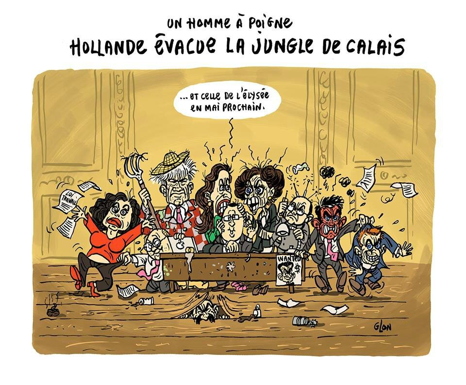 ps hollande humour election ministre branquignoles