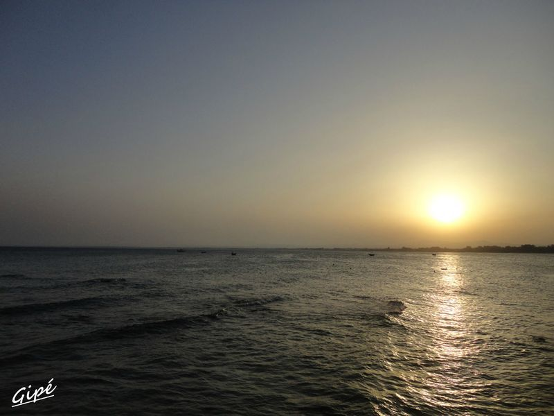 Coucher de soleil du dimanche 21 juillet 2013