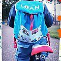 Sac enfant personnalisé avec le prénom Loan