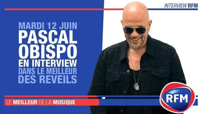 """[PODCAST] Pascal Obispo invité du """"Meilleur des réveils"""" sur RFM"""