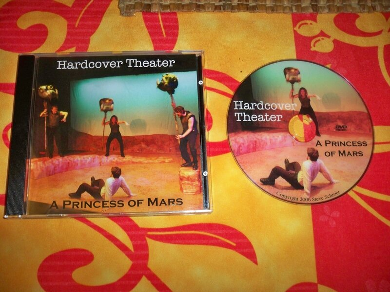 A Princess of Mars Hardcover Theater