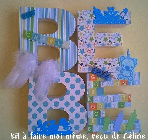 déco BEBE pour Charly