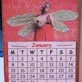 292 - Atc trail angel calendar 2007