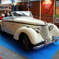 L' amilcar type b38 compound convertible de 1938 (23ème salon champenois du véhicule de collection)