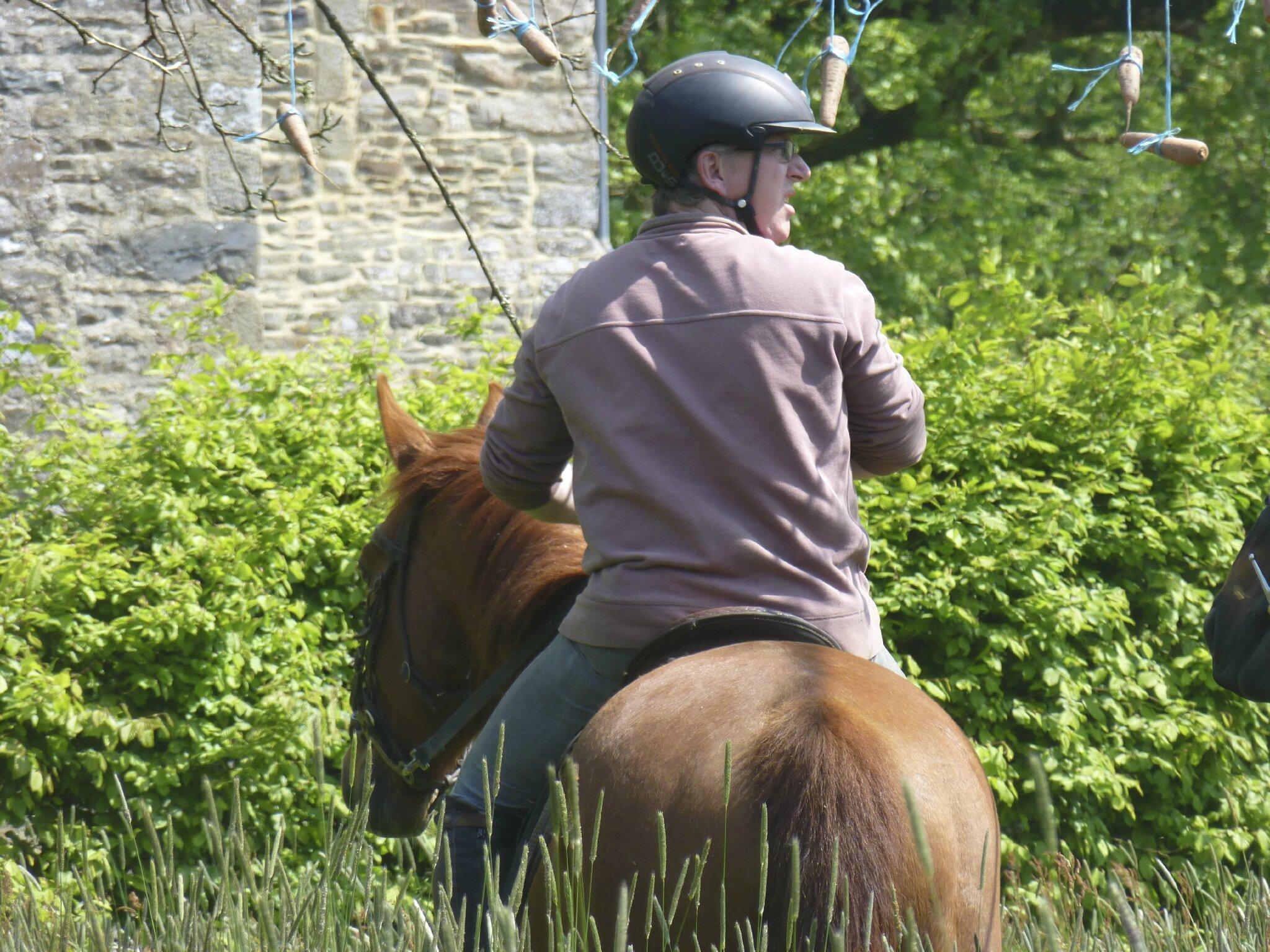 balade à cheval médiévale - Abbaye de Hambye (220)