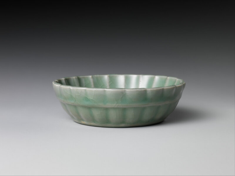 Brush washer with lotus, Ming dynasty (1368–1644), 15th century