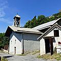 Le four et la chapelle notre-dame des neiges, les casses (réotier)