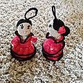 Minni poupées marionnettes au crochet