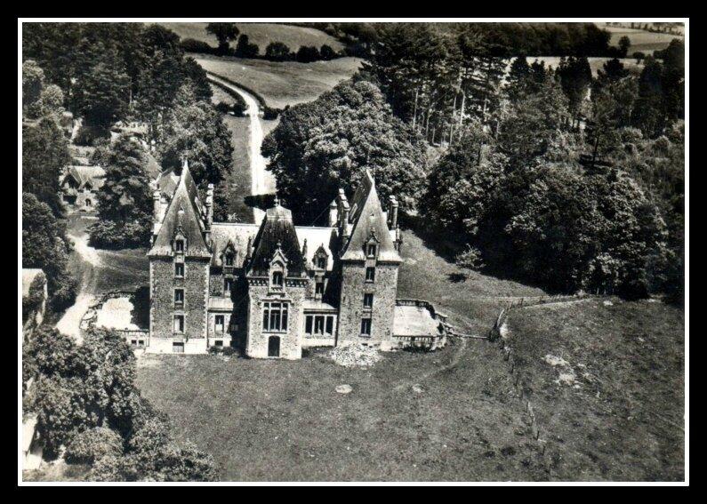 Montenay 53 château de La Bas-Maignée