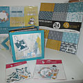 Mini album hiver - collection scrap plaisir