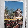 Colmar - la Petite Venise et ses terrasses datée 2008