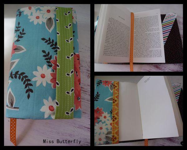 Protège livre pour ma pomme -Miss Butterfly