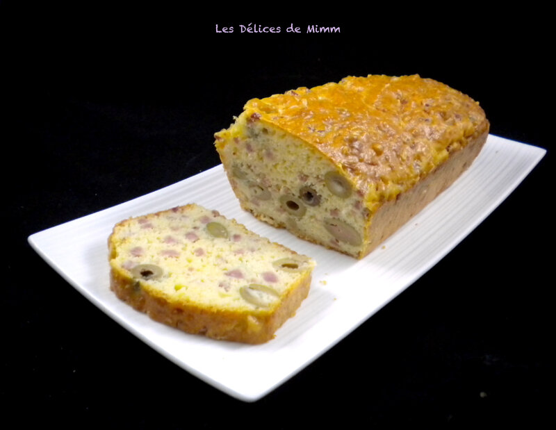 L'incontournable cake aux olives 3