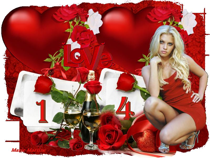 roses rouges C