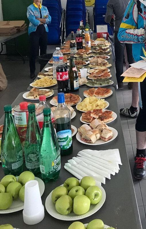buffet arrivée