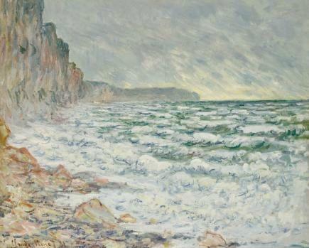 Monet - falaises