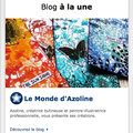 Blog à la une