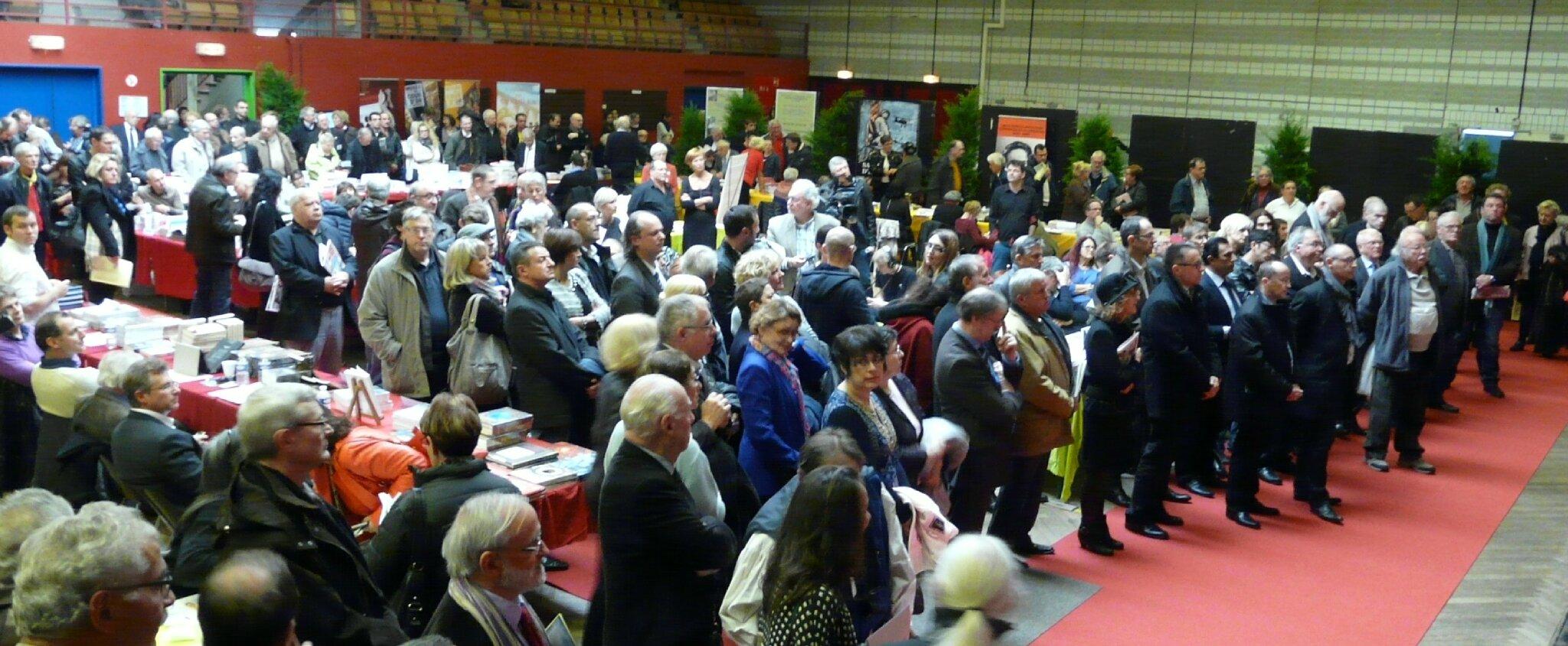Le public lors de l'inauguration