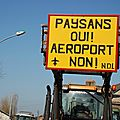 paysans oui aéroport non