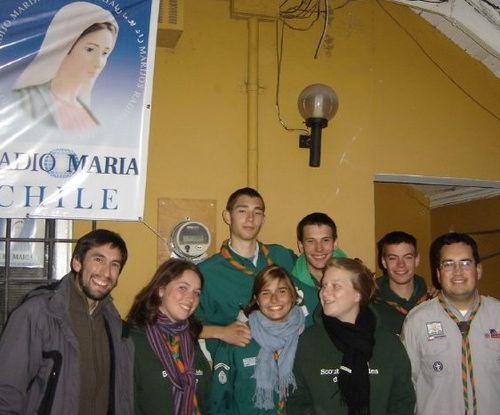 Con Felipe en la radio María