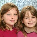 Sophie and Sarah School Photo Dec 2007