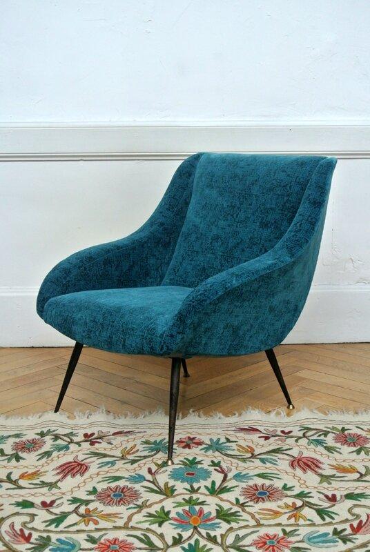 fauteuil italien 1950 (5)