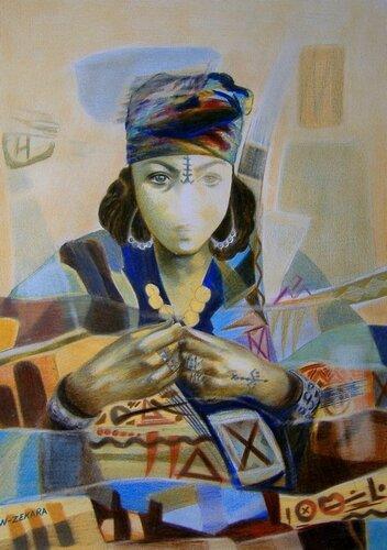 Femme Berbère