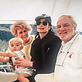 Moment captured: michael jackson sur un yacht en afrique du sud, septembre 1999