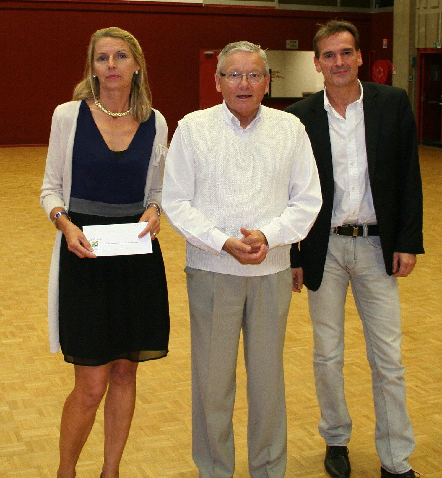 Les lauréats du tournoi annuel 2014