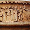 Reims 2-3- 1 - cathédrale - façade nord - portail de gauche