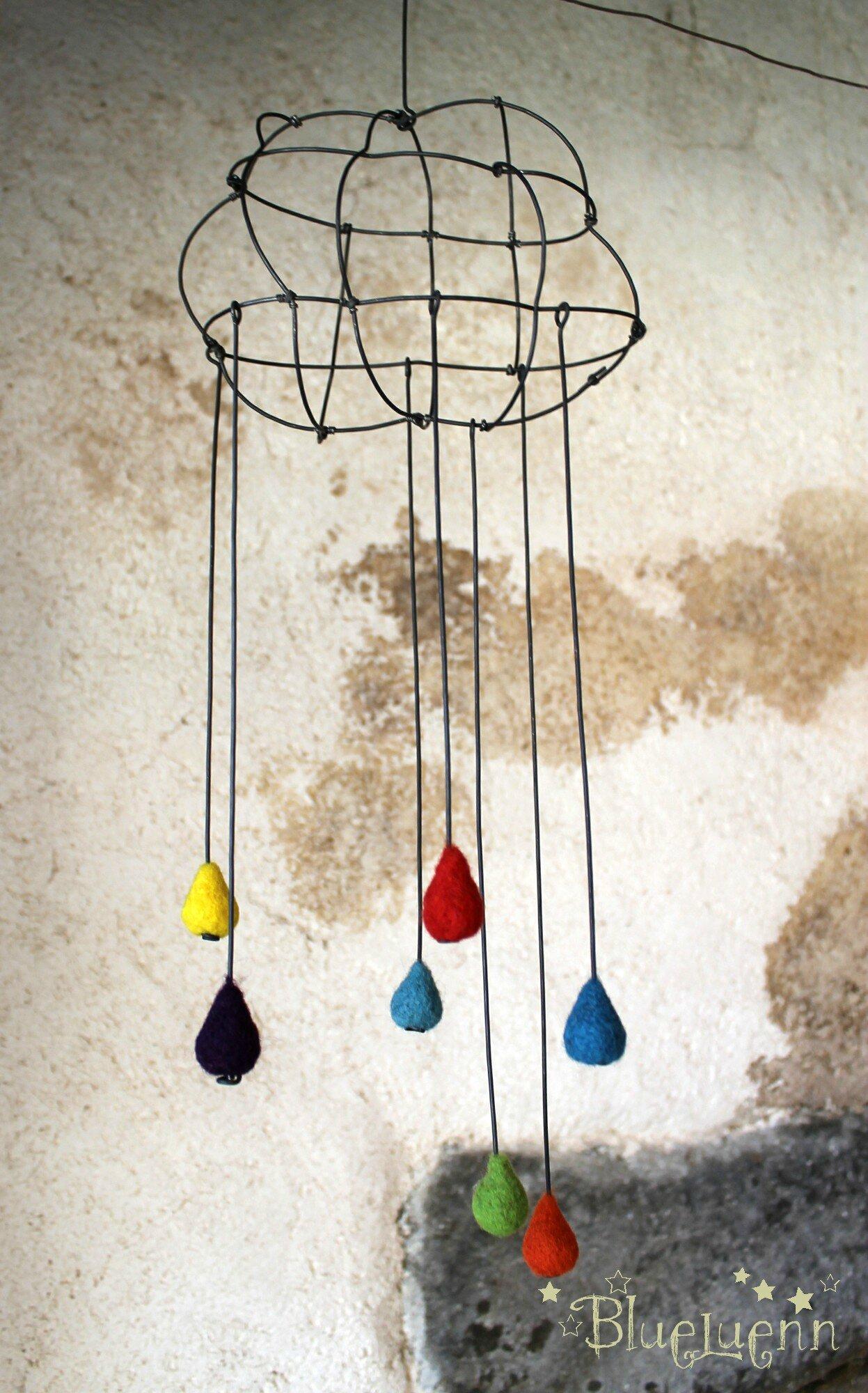 pluie de couleur