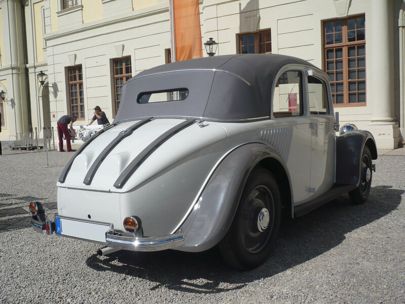MERCEDES 130H W23 berline découvrable 1934 Ludwigsburg (2)