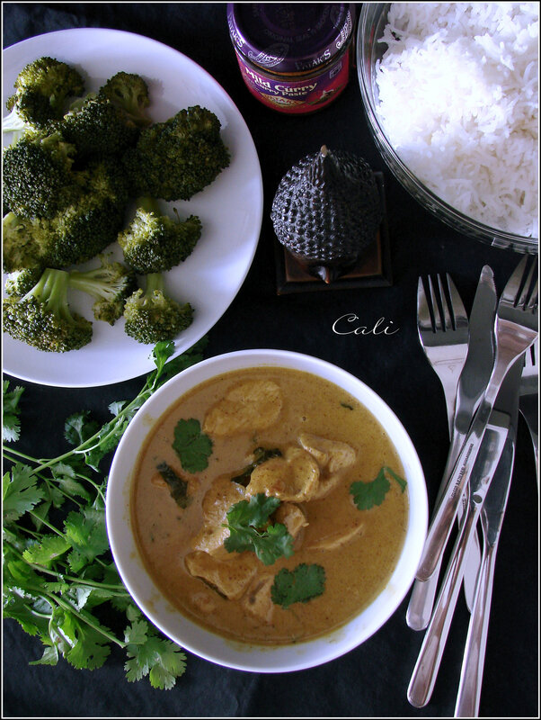 Curry de Dinde aux Feuilles de Citron Kaffir 002