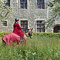 balade à cheval médiévale - Abbaye de Hambye (229)