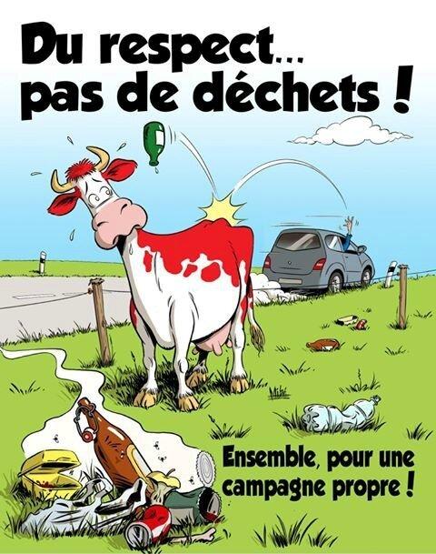 Du respect pas de déchets !